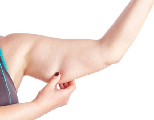Elimina la grasa y flacidez en los brazos